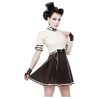 Westward Bound Pirouette Latex Rubber Dress.