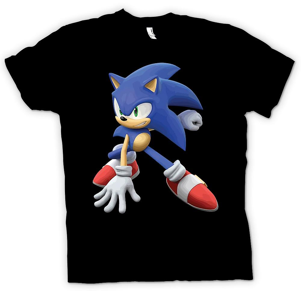 Womens T-shirt - Sonic The Hedgehog - Gamer