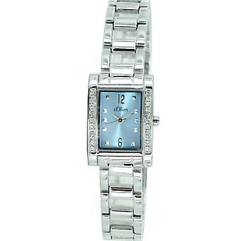 s.Oliver ladies wrist watch analog quartz SO-15008-MQR