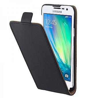 Vend Pocket Deluxe svart for Samsung Galaxy A5 A500 A500F