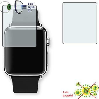 Apple Watch 38mm screen protector - Disagu ClearScreen protector (deliberately smaller than the display, as this is arched)