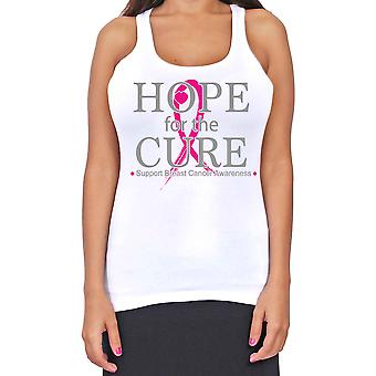 Juniors Dri Fit Hope For The Cure Breast Cancer Support T-Back Tank Top
