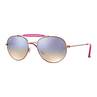 Ray - Ban RB3540 Large Bronze/pink mirrored gray gradient
