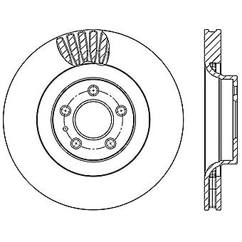 StopTech 126.61114SR Sport Slotted Brake Rotor (Front Right)