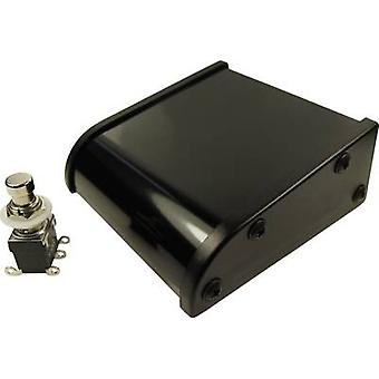 Cliff CL2108C Foot switch 250 V AC 2 A 1-pedal Assembly kit, convex 2 change-overs 1 pc(s)