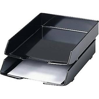 HAN Letter tray 1028-13 WAVE EXCLUSIV A4, C4 Black 1 pc(s)