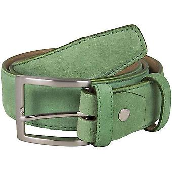 40 Colori Trento Suede Belt - Pastel Green
