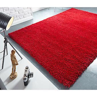 Athena röd rektangel mattor Plain/nästan slätt mattor