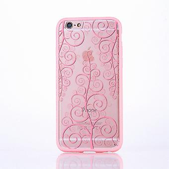 Mandala di Mobile Shell per Huawei P9 Lite design Custodia cover motivo copertura caso paraurti fiore rosa
