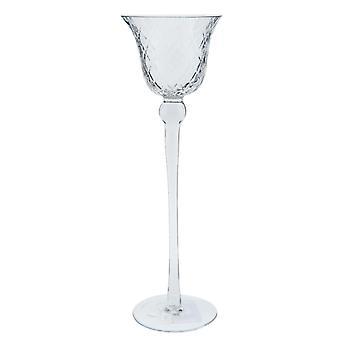 Clayre & EEF tea light holder tea light high lantern glass Ø 9x30cm