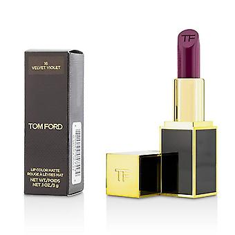 Tom Ford Lip Color Matte - # 16 Velvet Violet - 3g/0.1oz