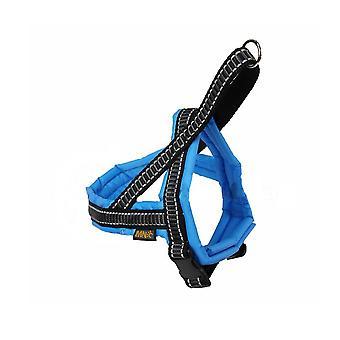 النايلون الكلاسيكية تي-تسخير كامل حشوة الأزرق