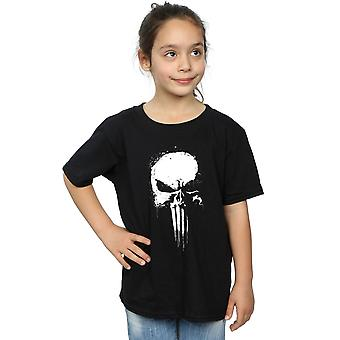 Marvel Girls Punisher Spray Skull T-Shirt