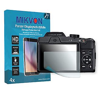 Nikon COOLPIX B500 Screen Protector - Mikvon Armor Screen Protector (Retail Package with accessories)