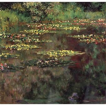 Water-Lilies, Claude Monet, 50x50cm