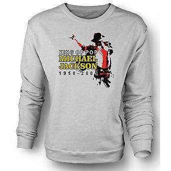 Kids Sweatshirt Michael Jackson King Of Pop - New