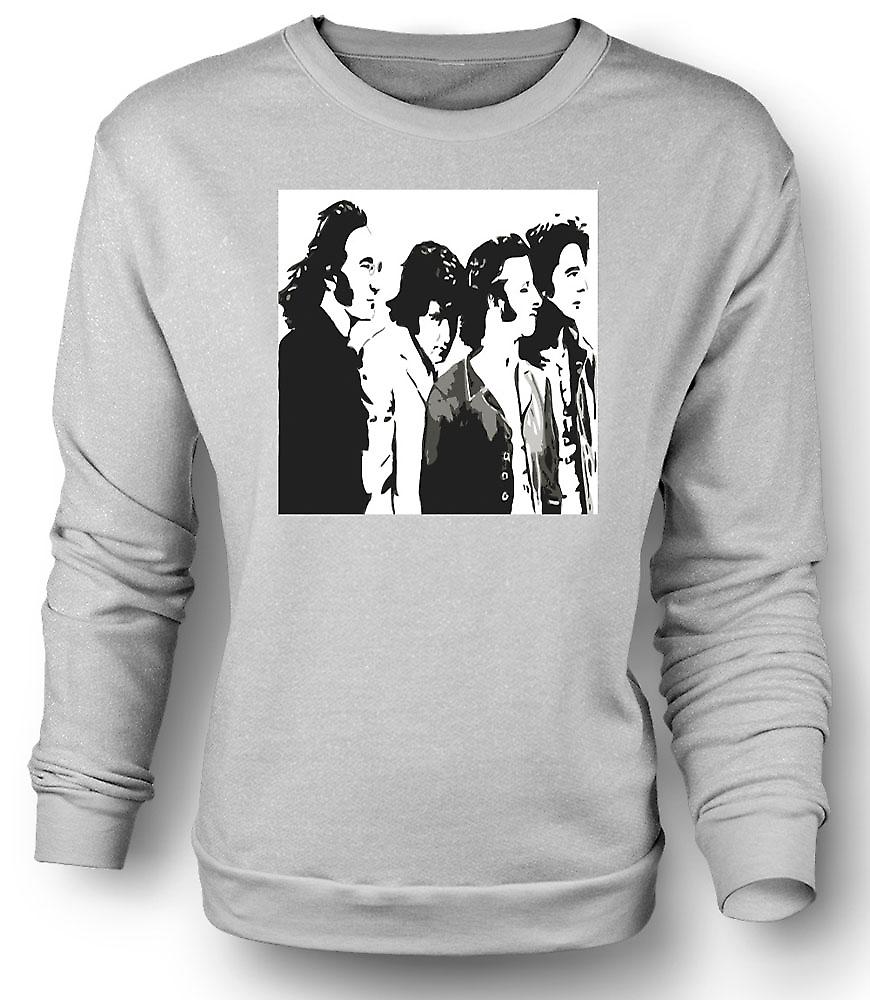 Sweatshirt Mens le Beatles - Band - Pop Art