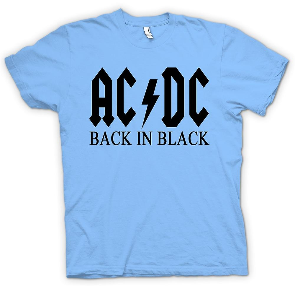 Herren T-shirt - AC/DC Back In Black - Rock