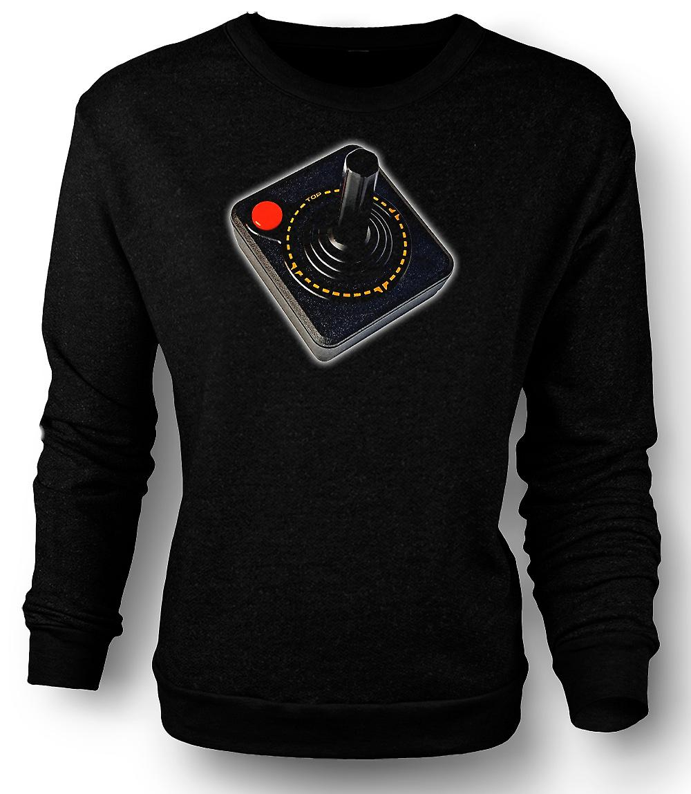 Mens Sweatshirt Atari Games Controller - Old School