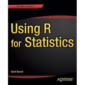 À l'aide de R pour les statistiques par Sarah Baldock - livre 9781484201404