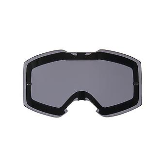 Oakley Dark Grey Front Line MX Goggle Lens