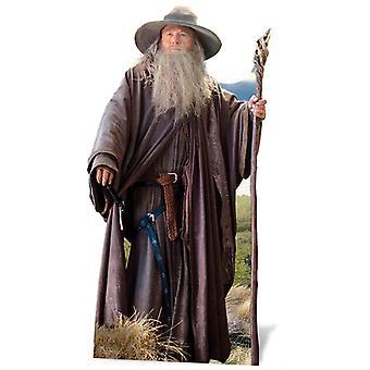Gandalf från Hobbit Lifesize kartong släppandet / stående