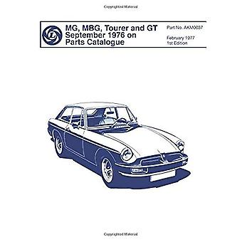 MGB, Tourer & GT Sept. 1976 on Parts Catalogue