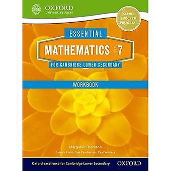Mathematics for Cambridge Secondary 1 Stage 7 Work Book (Essential Mathematics for Cambridge)