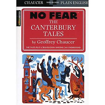 The Canterbury Tales (No Fear Shakespeare) (Sparknotes No Fear Shakespeare)