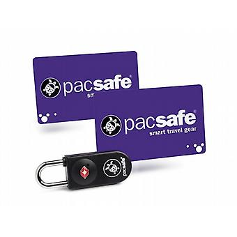 Pacsafe Prosafe 750 TSA Accepted Key Card Lock (Black)