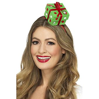 Festive Present Headband Christmas Fancy Dress Accessory