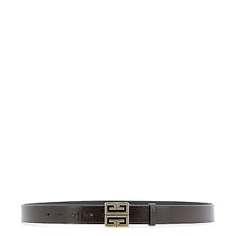 Givenchy Brown Leather Belt