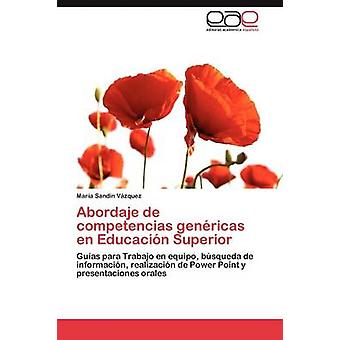 Abordaje de Competencias Genericas fr Educacion Superior par sable N. V. Zquez & Mar un.