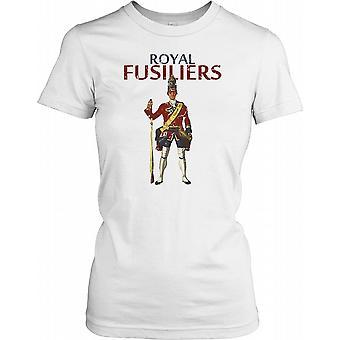 De kongelige Fusiliers - City of London Regiment damer T Shirt
