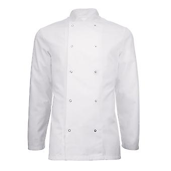 Alexandra Adults Unisex Long Sleeve Chefs Jacket (Pack of 2)