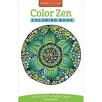 Design Originals-Color Zen Coloring Book