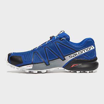 New Salomon Men's Speedcross 4 Trail Running Shoes Blue
