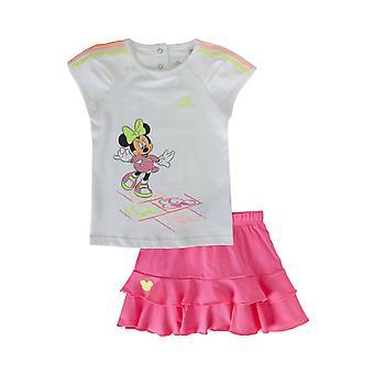 أديداس ديزني البسيطة الرضع الفتيات مجموعة تي شيرت وتنورة S22057