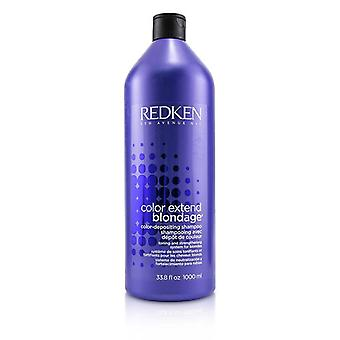 Redken color extender Blondage color-champú depositante (para rubias) 1000ml/33.8 oz