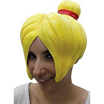 Anime 4 Latex Yellow Wig