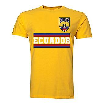 Ecuador Core Football Country T-Shirt (Yellow)