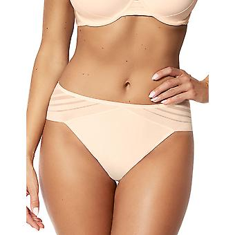 Sans Complexe 319798 Women's Lift Up Pink Champagne Solid Colour Knickers Panty Brief