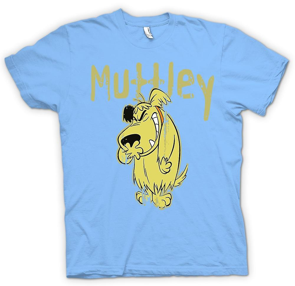 Mens T-shirt - Muttley - böser Hund - lustig