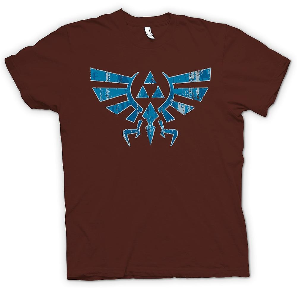 Mens T-shirt - Legend Of Zelda Inspired - Triforce - Game Inspired