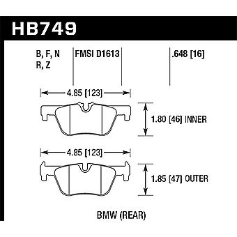 Hawk Performance HB749Z.648 PC