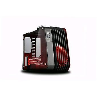 Enermax steelwing ecb2010r Cabinet micro-Tower Micro-ATX/Mini-ITX gehard glas zwart/rood