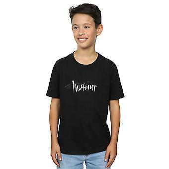 Disney Boys Maleficent Mistress Of Evil Wings Silhouette T-Shirt