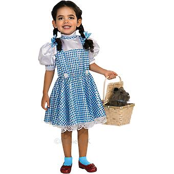 Girls Age 1 - 10 Years Dorothy The Wizard of Oz Costume Film Book Day Fancy Dress