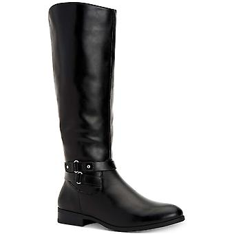 Style & Co. Womens Kindell Leather Closed Toe Mid-Calf Fashion Boots