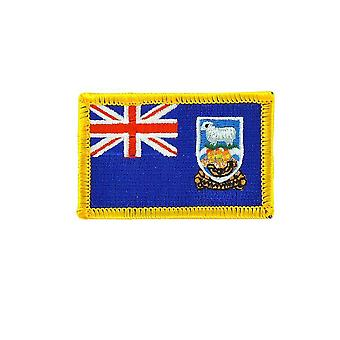 Patch Ecusson Brode Drapeau Backpack Malouines Falklands Thermocollant